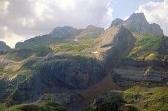 pyrennes Испания стоковое фото