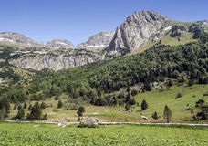 Pyrennes mountains Royalty Free Stock Image