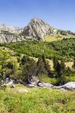 Pyrennes mountains Royalty Free Stock Photo