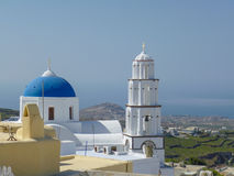Pyrgos in Greece Royalty Free Stock Photo