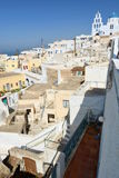 Pyrgos Kallistis Santorini, îles de Cyclades La Grèce Photo libre de droits
