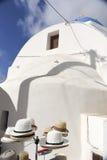 Pyrgos Santorini royalty-vrije stock afbeelding