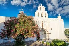 Pyrgos, Santorini island, Greece Stock Photography