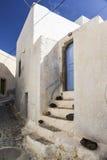 Pyrgos Santorini Royalty Free Stock Images