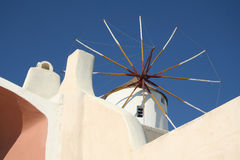 Pyrgos, Santorini Stock Photography