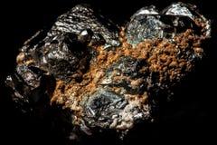 Pyriet mineraal stuk royalty-vrije stock afbeelding