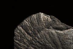 Pyriet mineraal stuk stock afbeelding