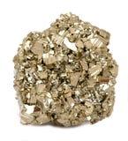 Pyrietkristallen royalty-vrije stock afbeelding
