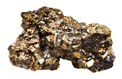 Pyrietmineraal royalty-vrije stock fotografie