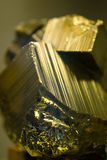 Pyrite. Nord minerals of cola peninsula Stock Images