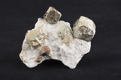 Pyrite Stock Photo