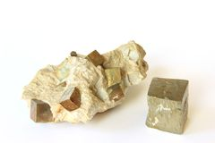 Pyrite Photo libre de droits
