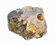 Pyrite, beautiful single large Stock Image