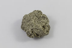 Pyrite Chunk. A beautiful chunk of pyrite Stock Photography
