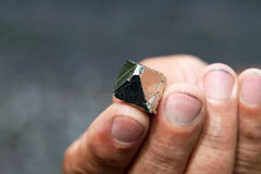 Pyrite, Colombia Stock Image