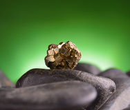 Pyrite de fer Photos stock