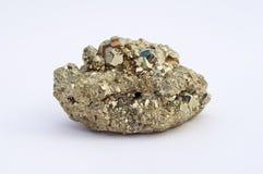 Pyrite de pierre gemme images libres de droits