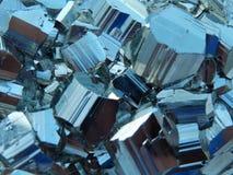 Pyrite du Pérou photo stock
