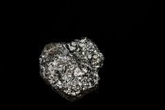 Pyrite-fiery stone Stock Photos