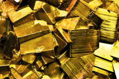 Pyrite fool's gold Stock Photography