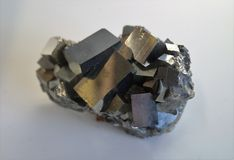Pyrite - Iron Mineral Stock Photos