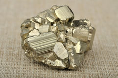 Pyrite mineral Royalty Free Stock Photography