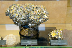 Pyrite Mineral Stock Images