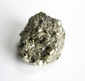 Pyrite mineral paterrn Stock Photo
