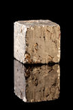 Pyrite mineral rock Stock Images