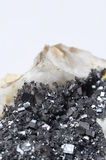 Pyrite mineral stone Stock Photo