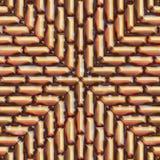 Pyrite pattern Stock Image