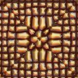 Pyrite pattern Royalty Free Stock Photos