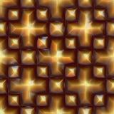 Pyrite pattern Royalty Free Stock Photo