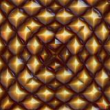 Pyrite pattern Royalty Free Stock Image