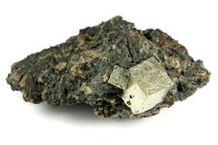 Pyrite Royalty Free Stock Photography