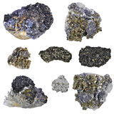 Pyrites  collage Stock Image