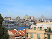 pyrmont Сидней города моста anzac к Стоковое фото RF