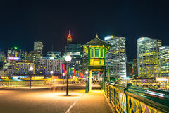 Pyrmont Bay in Darling Harbour. Stock Images