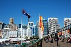 Pyrmont Bridge, Sydney, Australia Royalty Free Stock Images