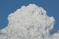 Pyroclastic Wolken vom König Fir Stockfotografie