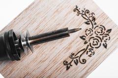 Pyrography Royalty Free Stock Image