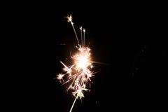 Pyrotechnic бенгальский огонь Оборудование освещения для Нового Года и рождества Стоковые Изображения
