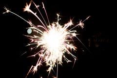 Pyrotechnic бенгальский огонь Оборудование освещения для Нового Года и рождества Стоковое Фото