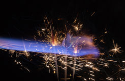 Pyrotechnic abstract Stock Photos