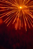 Pyrotechnic background Royalty Free Stock Photos