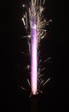 Pyrotechnic burning fire Royalty Free Stock Photos