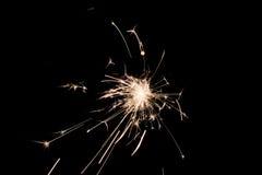 Pyrotechnic sterretje Verlichtingsmateriaal voor Nieuwjaar en Kerstmis Stock Afbeelding