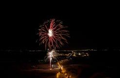 pyrotechnics imagem de stock royalty free