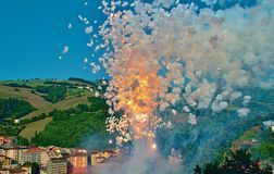 Pyrotechnics Royalty Free Stock Images