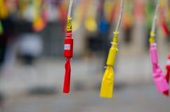 Pyrotechnics and Firecrackers at Mascletà, detail of Valencia en fallas, spain. Detalle de petardos en una Mascletà durante las fiestas de fallas en stock image